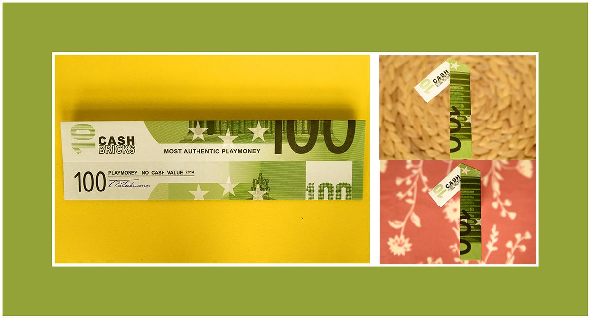 100 Euro Schein als Geschenk falten