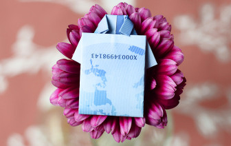 Geldscheine falten Anleitung Hemd