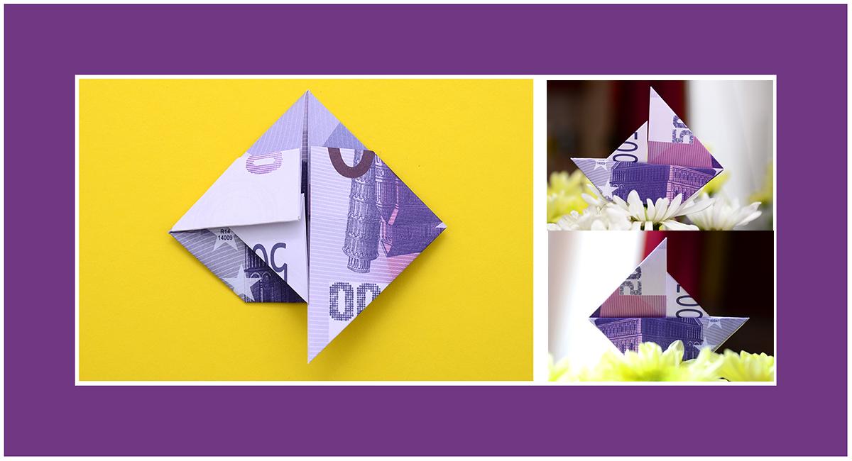 Geldscheine Falten Anleitung 02