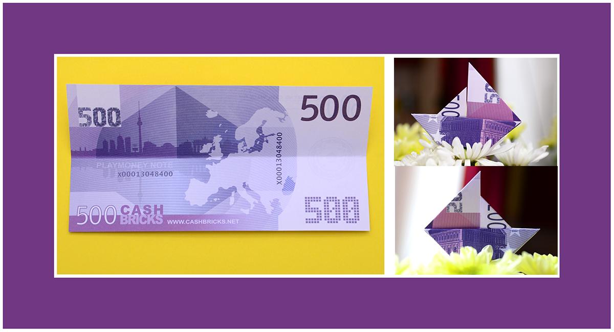 Geldscheine Falten schnell und einfach