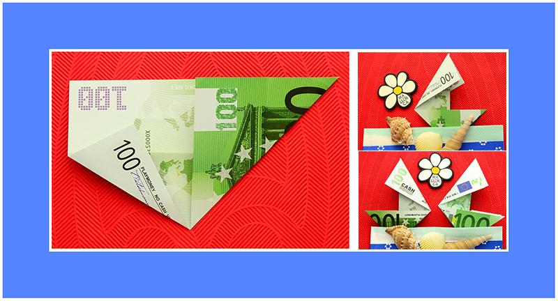 100 Euro Geldschein falten Geburtstag