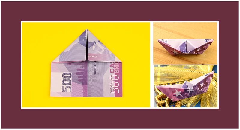 500 Euro Geldschein falten