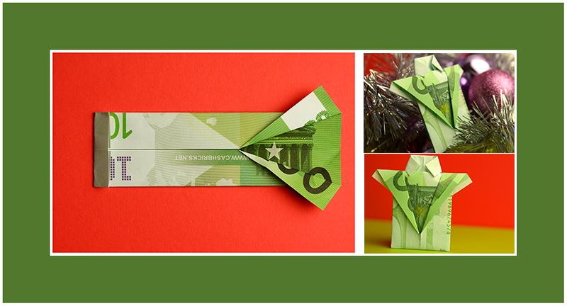 Geldscheine falten Anleitung