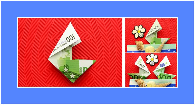 Geldscheine falten Origami