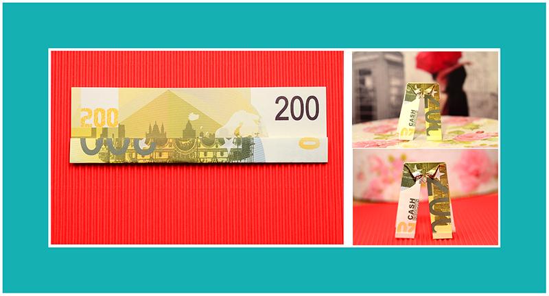 200 Euro Hose falten