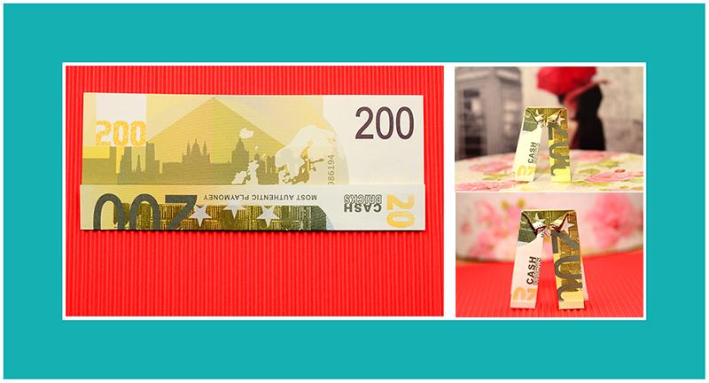 200 Euro Schein falten Hose