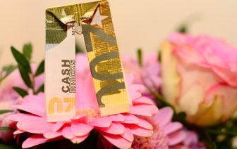 Geldscheine falten Hose