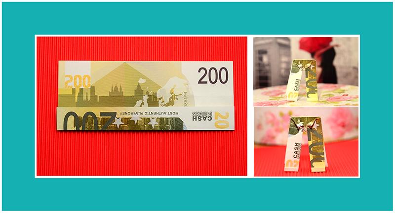 Geld Origami Hose