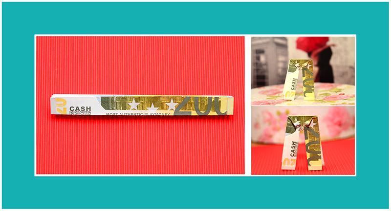 Geldscheine falten Geburtstag Hose