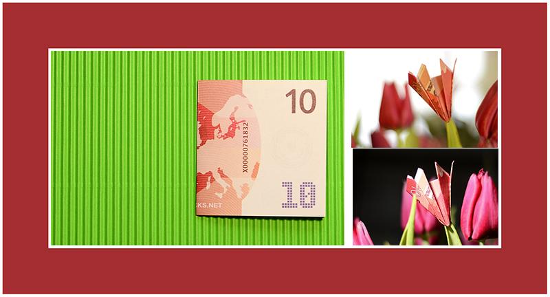 10 Euro Geldschein falten