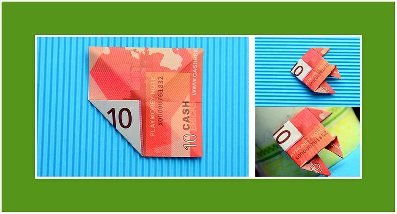 Geldscheine zur Hochzeit