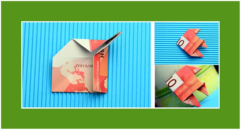 Wie Geldscheine falten Origami