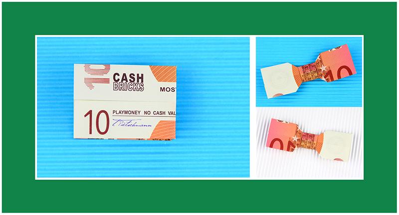 10 Euro Geldscheine falten