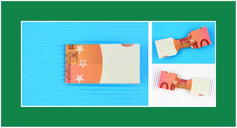 Geld Origami Anleitungen