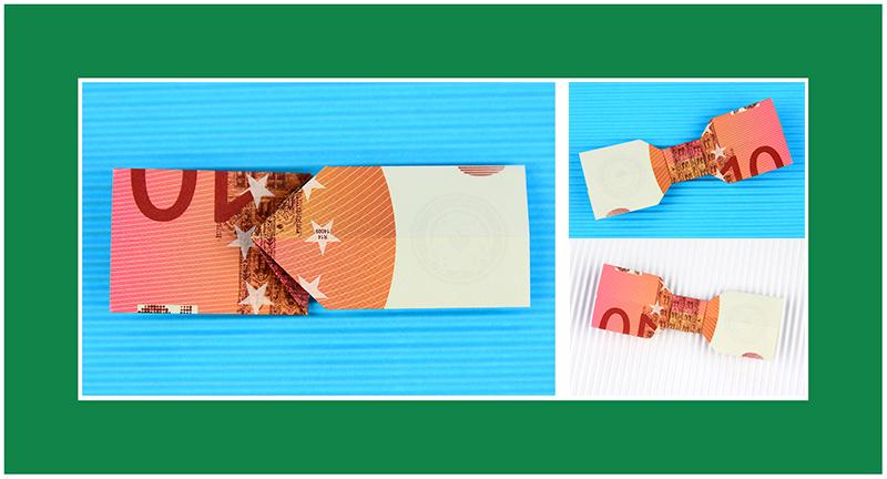 Origami Geld 10 Euro