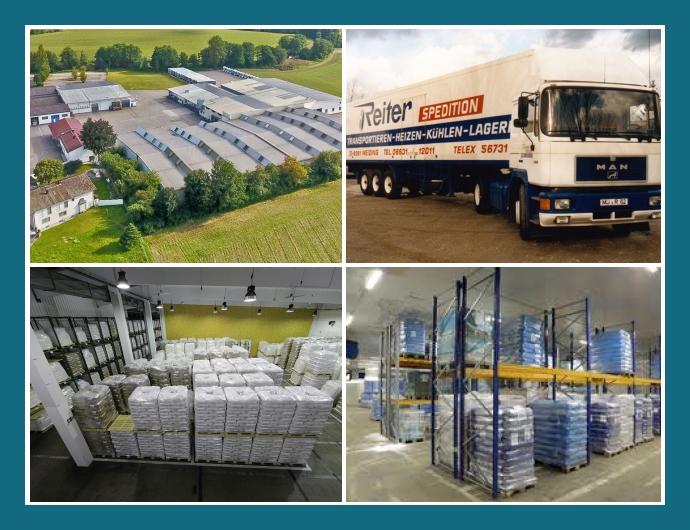 Reiter Spedition GmbH Polling Landshut München Lagerhaltung Lebensmitteltransporte